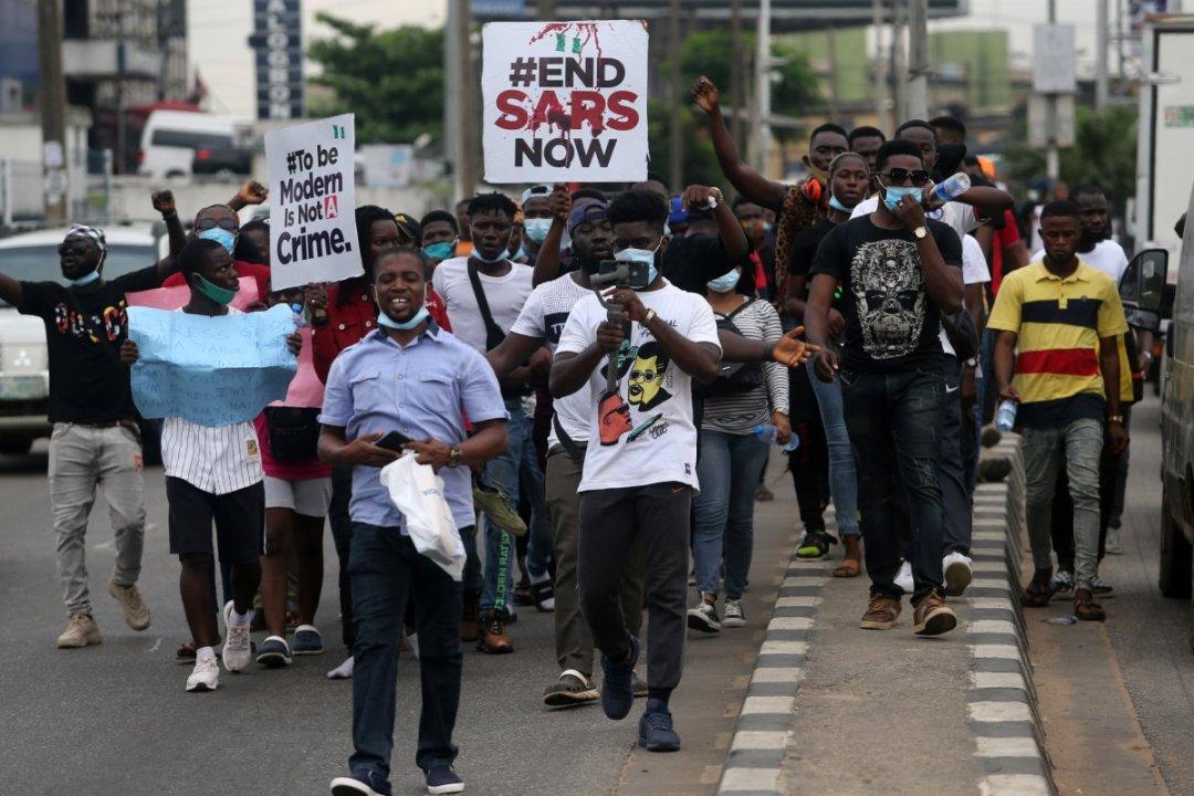 L'unité SARS au Nigéria démantelée sous la pression de la rue