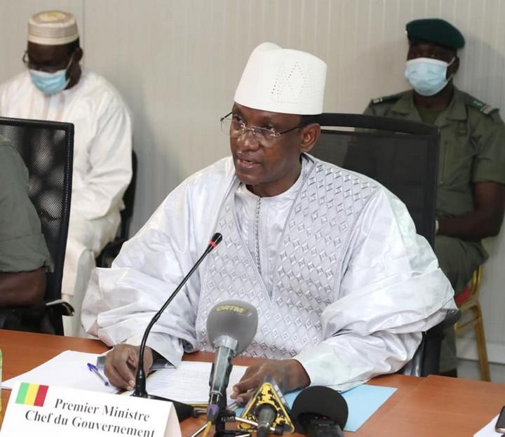 Choguel Kokala Maiga, premier ministre du Mali