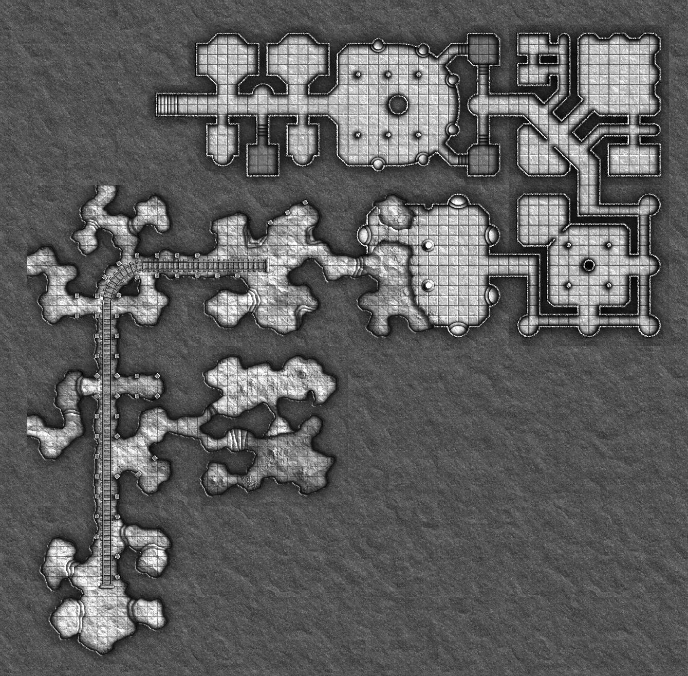 Example map using CSP Geomorphs.