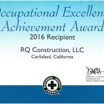 16 Occupational Excellence Achievement