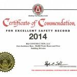 AGC Commendation 2014