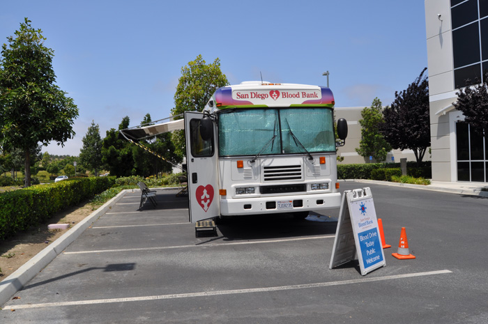 RQ Participates In Third Annual AGC Blood Drive