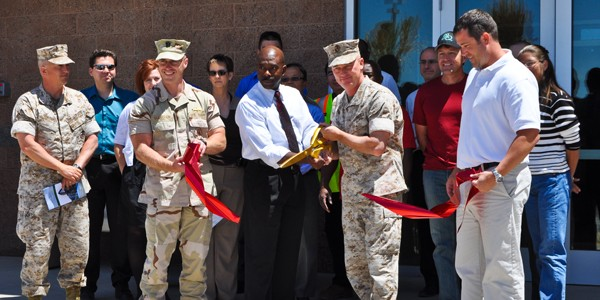 Ribbon Cutting: P-906 Bachelor Enlisted Quarters