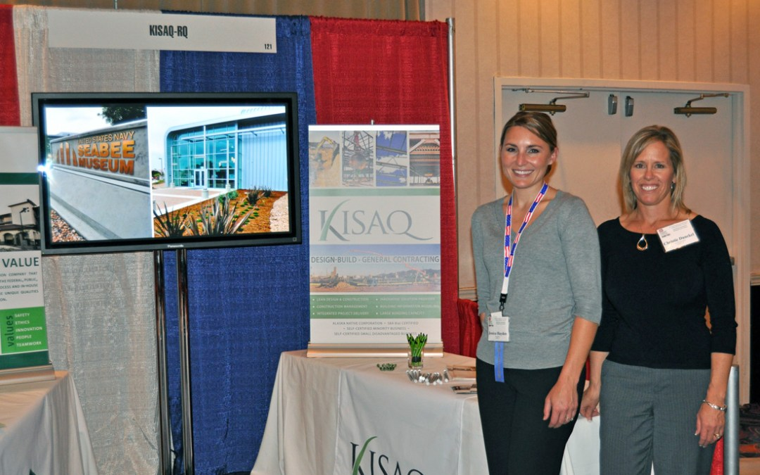 Kisaq-RQ attends the 10th Annual Veterans and Small Business Training and Outreach Conference