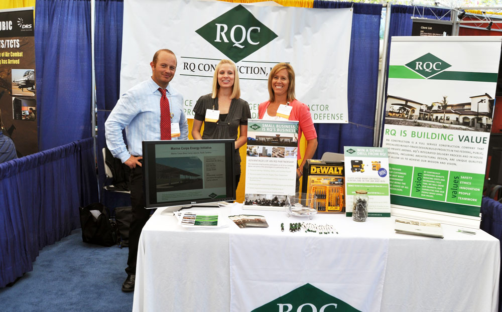RQ Networks at 2012 Navy Gold Coast