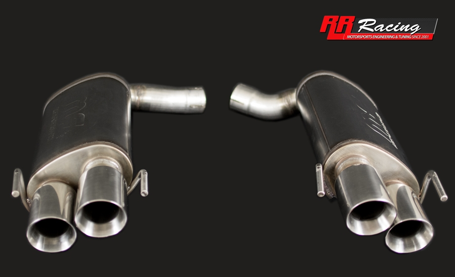 rr racing quad tip exhaust system for lexus is f