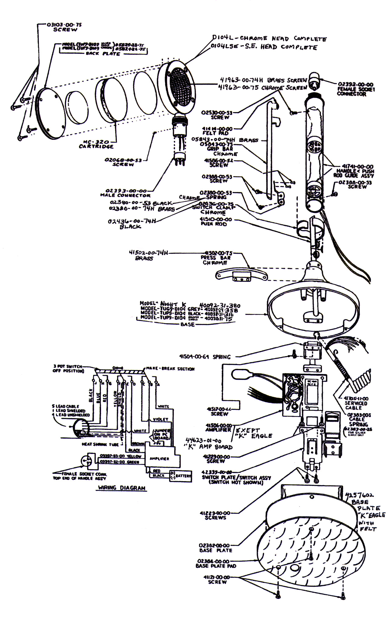 D104 Silver Eagle Wiring Diagram