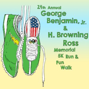 24th Annual George Benjamin & Browning Ross Memorial 5K Run & Fun Walk
