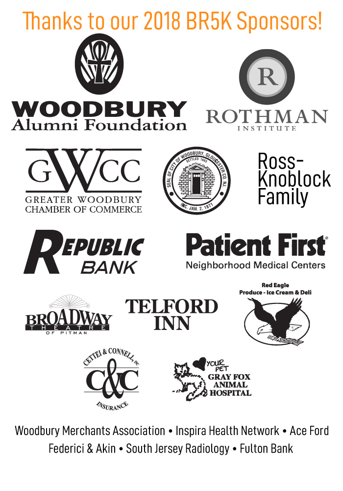Thanks to our 2018 BR5K Sponsors!