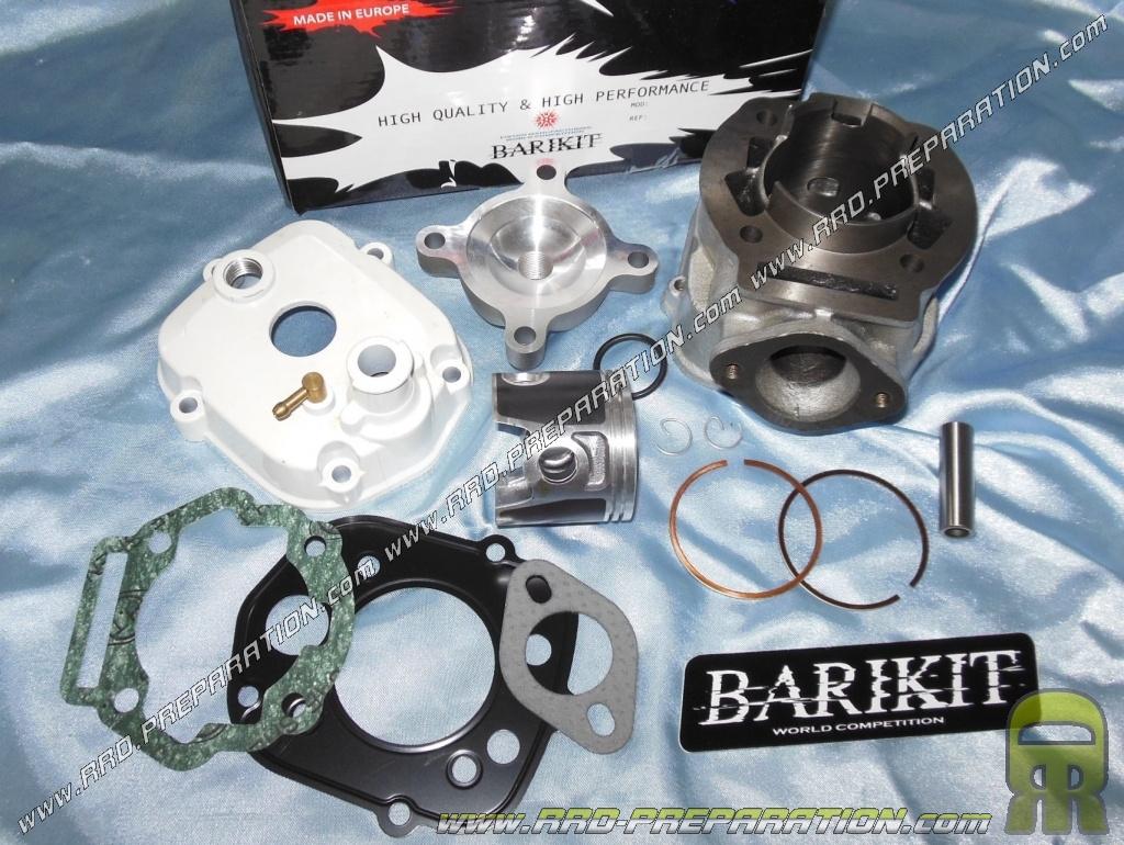 kit 80cc high engine o50mm barikit big bore cast iron derbi euro 3 www rrd preparation com