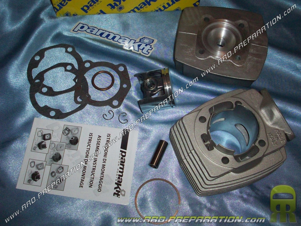kit 77cc o50mm parmakit avec culasse air aluminium peugeot 103 fox wallaroo www rrd preparation com