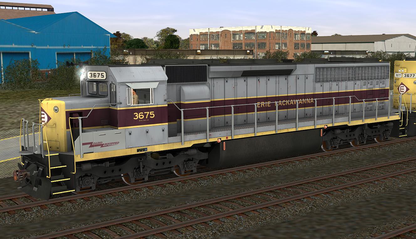 Erie Lackawanna Sd45 2 Rrmods