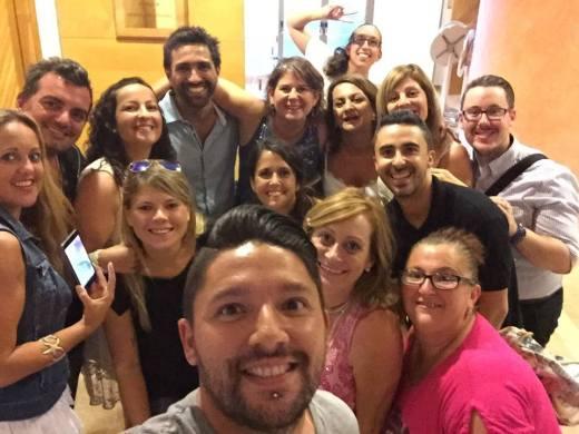 "Selfie de JuanRa ""Creadores del Destino"""