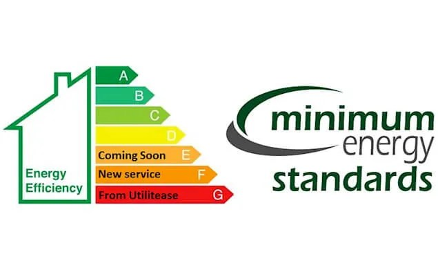 minimum energy efficiency standards graphic