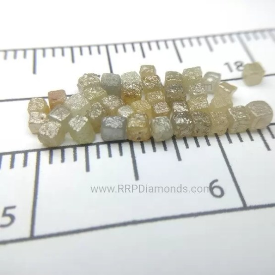 2 MM Rough Diamond Beads
