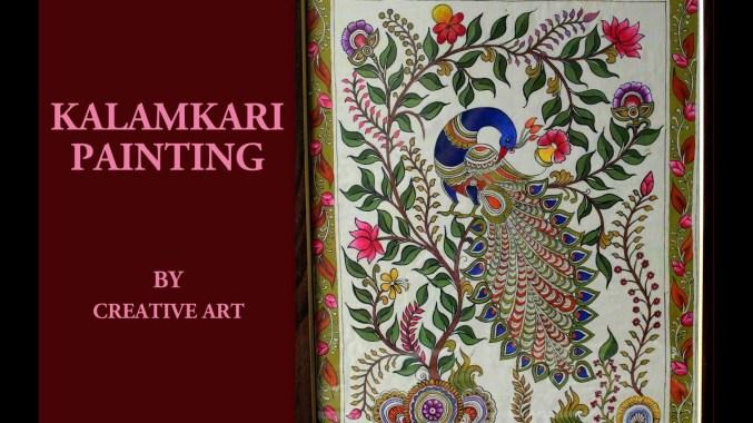 The Colors of Kalamkari Block Printing