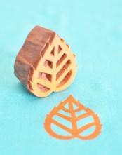 Floral Wooden Printing Blocks
