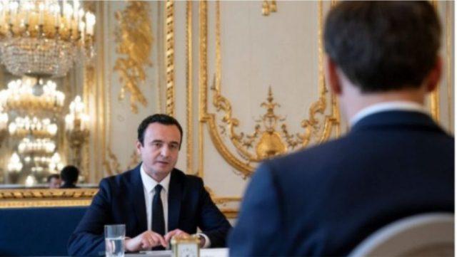 Kurti pas takimit me Macron: Nuk mora premtim për liberalizimin e vizave