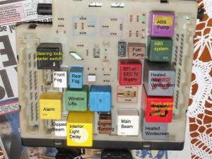 Escort mk 5 headlamp relay  PassionFord  Ford Focus