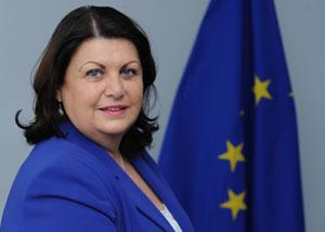 New European commissioner Maire Geoghegan-Quinn