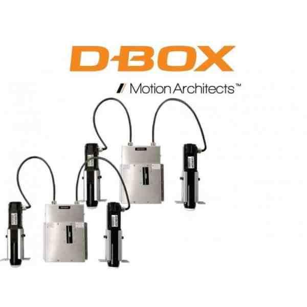 """D-box motion Gen3 4250i 1,5""""and 3""""actuators"""