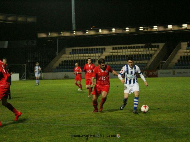 Gimnástica y Escobedo se reparten un punto en el partido de la jornada (0-0)
