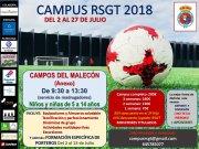 El Campus RSGT 2018 llega a El Malecón entre el 2 y el 27 de julio