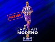 Cristian Moreno apuntala la defensa blanquiazul para el curso 2018/19