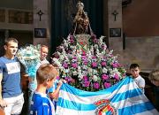 La Gimnástica rendirá homenaje a la Virgen Grande en la ofrenda floral