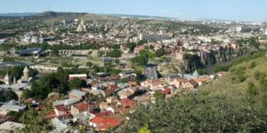 Die hoofstad van Georgië, Tbilisi
