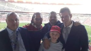 Jody Hendricks, Stuart (voor) en Craig Tappen