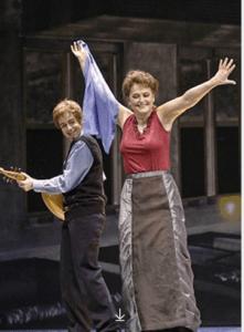 Michelle as Eboli in Don Carlos.