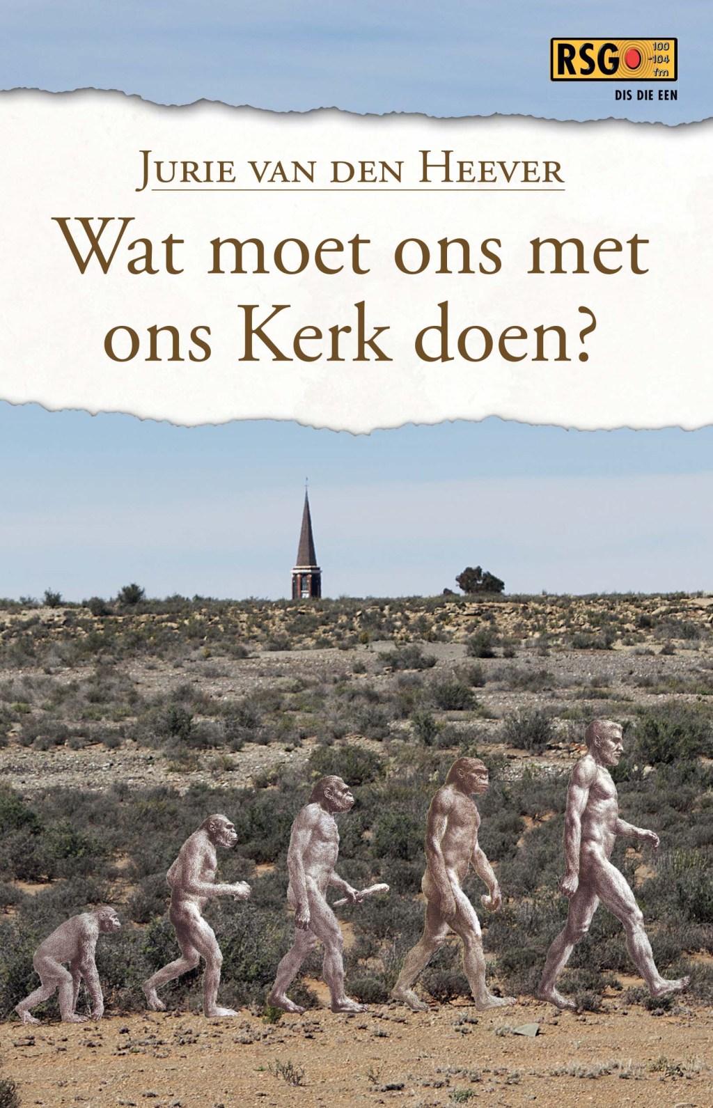 Paleontoloog/ateïs skryf kerkboek
