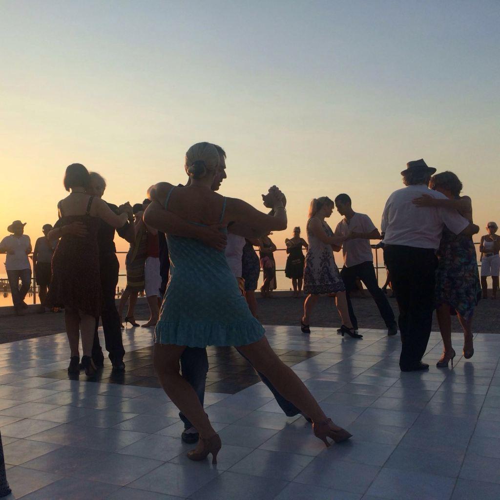 Is dit die Argentynse tango of die Ballroom een?