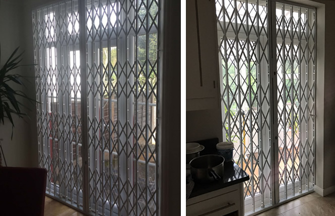 slim security grilles