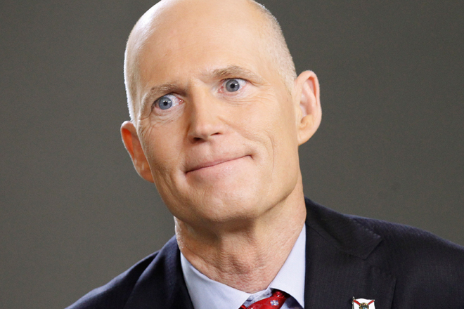 Rick Scott's office scrubbed a press release that cleared Planned Parenthood