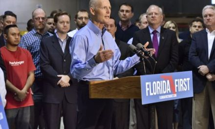 Rick Scott writes USA Today editorial to gush over Donald Trump
