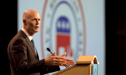 Rick Scott pretends to shoot down speculation he'll be Donald Trump's running mate