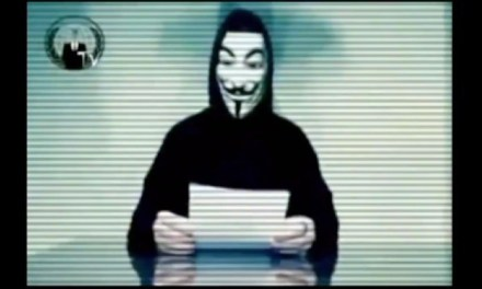 Rick Scott Ignores Reporters' Questions About Video Threats from Anonymous