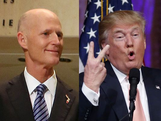"""Rick Scott Will Serve as National Chairman for """"Rebuilding America,"""" a Super PAC Supporting Donald Trump"""
