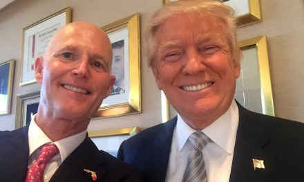 Rick Scott Plans to Serve as a Model of Governing for Trump