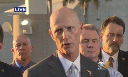 Rick Scott Calls Trump, Not Obama After Shooting