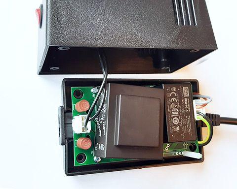 Inside of C64 PSU