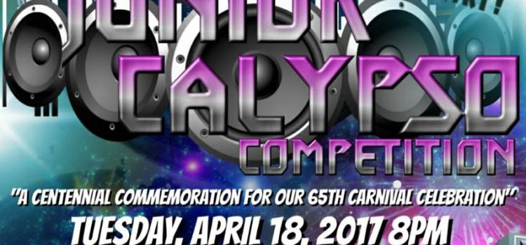 Don't Miss the 2017 First Bank Junior Calypso Competition!!!