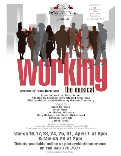 Working The Musical - www.pistarckletheater.com