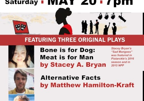 3 local plays showcased in Pistarckle Theater New Playwrights Festival