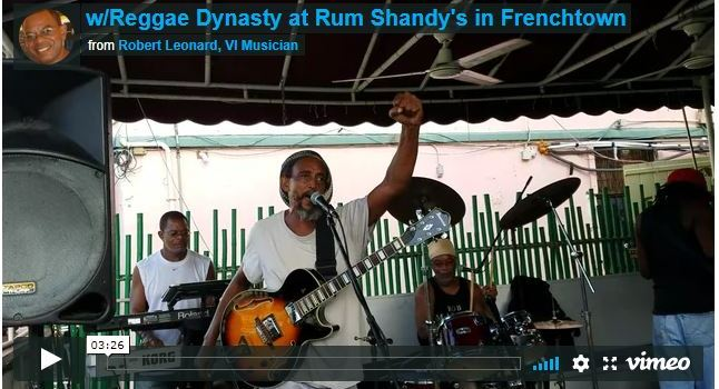 w/Reggae Dynasty at Rum Shandy's in Frenchtown