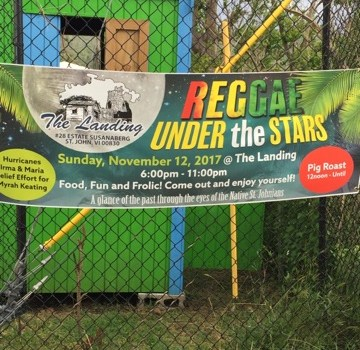 Reggae Under the Stars on St. John!