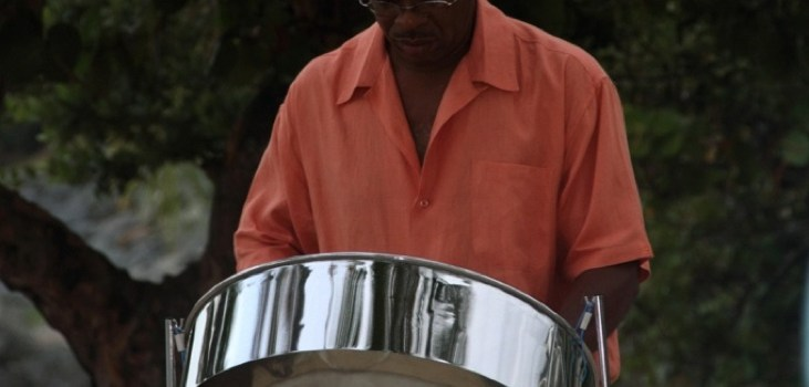 Steel Pan beach wedding