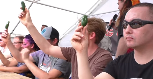 Video: Chili Eating Contest | Rainbow Sales and Marketing
